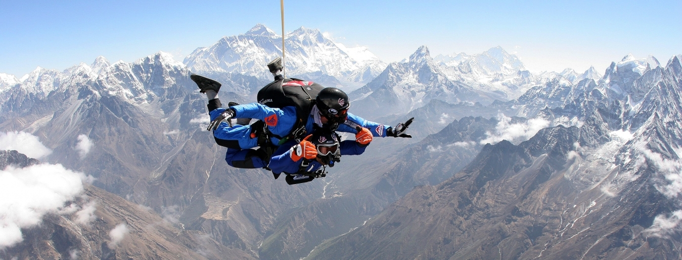 Everest Skydive | Skydive over Mount Everest | extreme ...