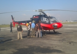 Muktinath Darshan by Helicopter